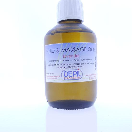 Huid & massageolie Lavendel
