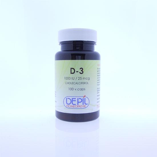 Vitamine D3 25 mcg Vega